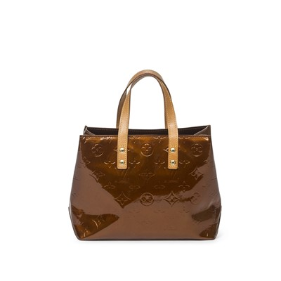 Lot 52-Louis Vuitton Bronze Monogram Vernis Reade PM