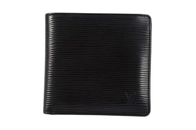 Lot 54-Louis Vuitton Black Epi Marco Wallet