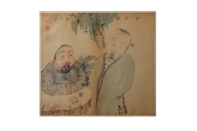 Lot 54-LI JIN (1958 –).   李津  LI JIN (1958 –).   李津