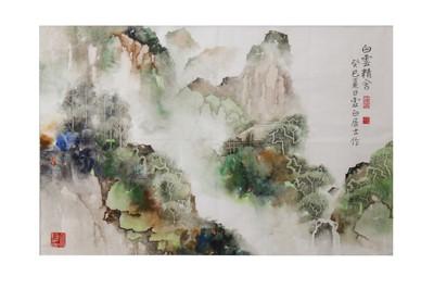 Lot 3-LI XUBAI (1940 –).   李虚白