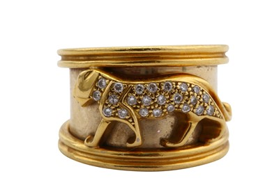 Lot 13-A diamond dress ring