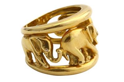 Lot 10-A dress ring