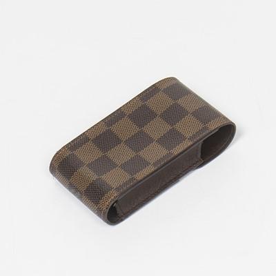 Lot 23-Louis Vuitton Damier Ebene Cigarette Case