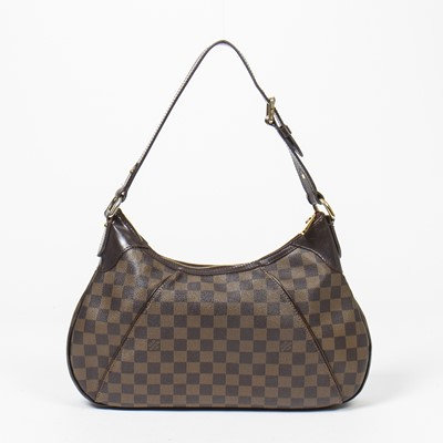 Lot 10-Louis Vuitton Damier Ebene Thames PM