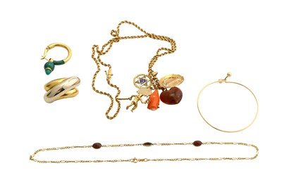 Lot 30-A collection of jewellery