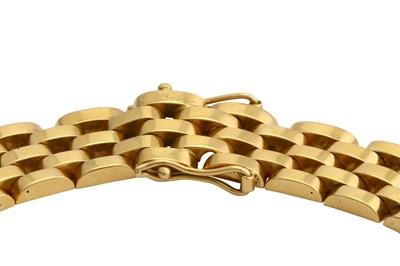 Lot 28-A fancy-link necklace