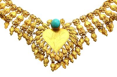 Lot 43-A fringe necklace