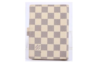 Lot 8-Louis Vuitton Damier Azur Agenda Cover