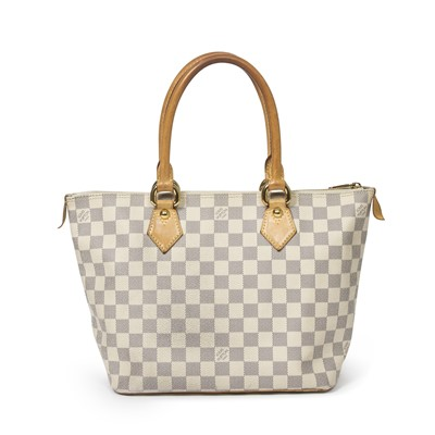 Lot 2-Louis Vuitton Damier Azur Saleya PM