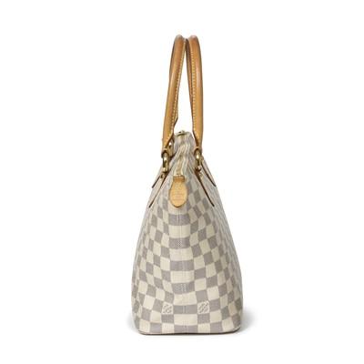 Lot 2-Louis Vuitton Damier Azur Saleya PM