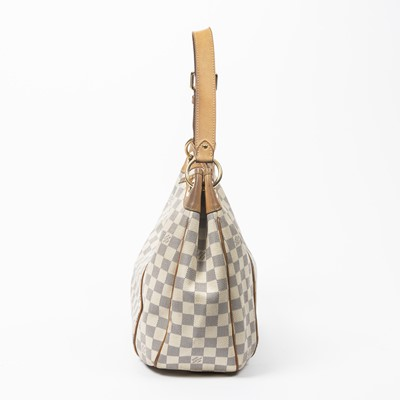 Lot 4-Louis Vuitton Damier Azur Galliera GM