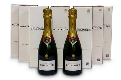 Lot 2-Bollinger Special Cuvee Half Bottles