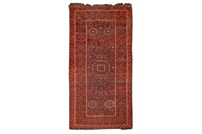 Lot 61-AN ANTIQUE BESHIR CARPET, TURKMENISTAN