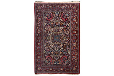 Lot 67-AN UNUSUAL FINE MESHED RUG, NORTH-EAST PERSIA