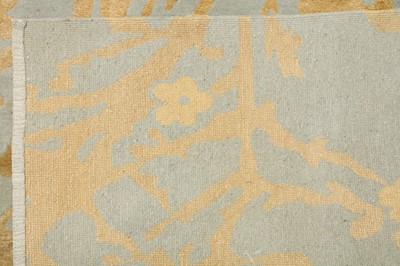 Lot 13-A FINE PART SILK NEPALESE CARPET OF CONTEMPORARY DESIGN