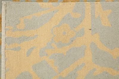 Lot 23-A FINE PART SILK NEPALESE CARPET OF CONTEMPORARY DESIGN