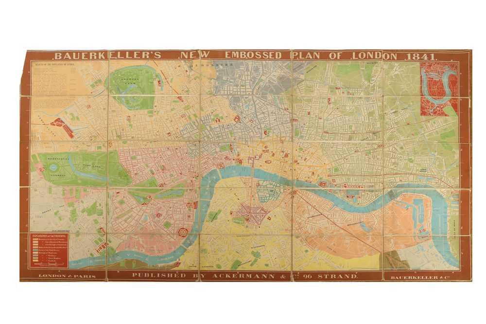 Lot 631 - Map - London - Topography