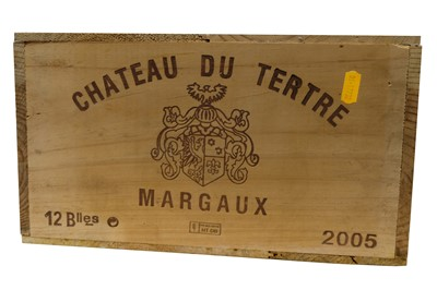 Lot 66-Chateau du Tertre Margaux 2005