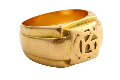 Lot 12-A signet ring