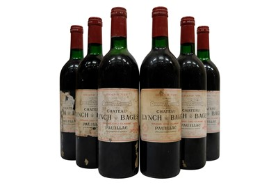 Lot 94-Château Lynch Bages 1985