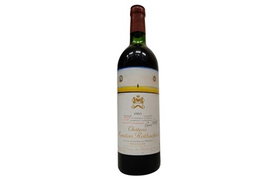 Lot 55-Château Mouton Rothschild 1983