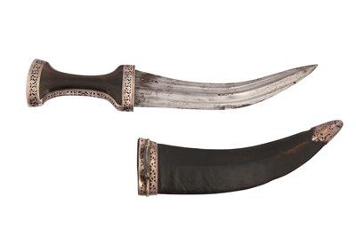 Lot 868-A NIELLOED AND HORN-HILTED DAGGER