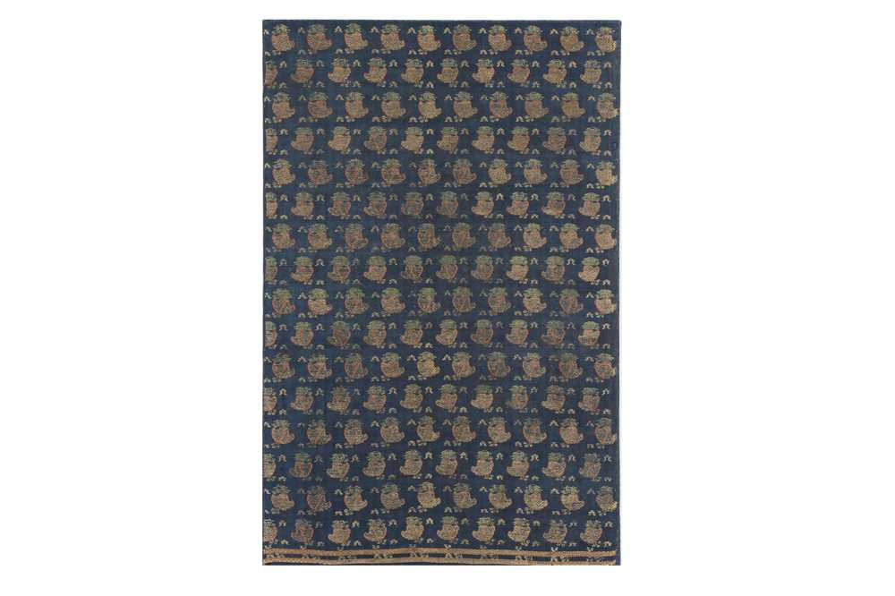 Lot 126-A BROCADED SILK PANEL