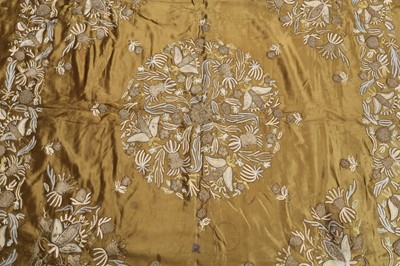 Lot 141-A SILK EMBROIDERED PANEL
