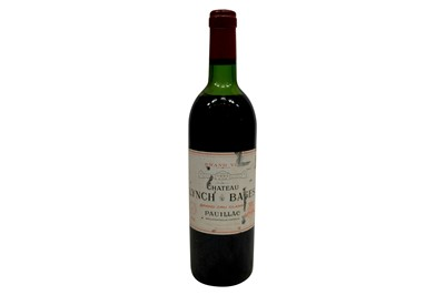Lot 95-Chateau Lynch-Bages 1982