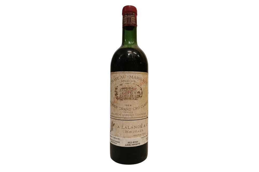 Lot 44-Chateau Margaux 1964