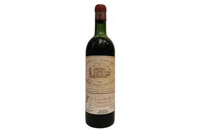 Lot 53-Chateau Margaux 1964