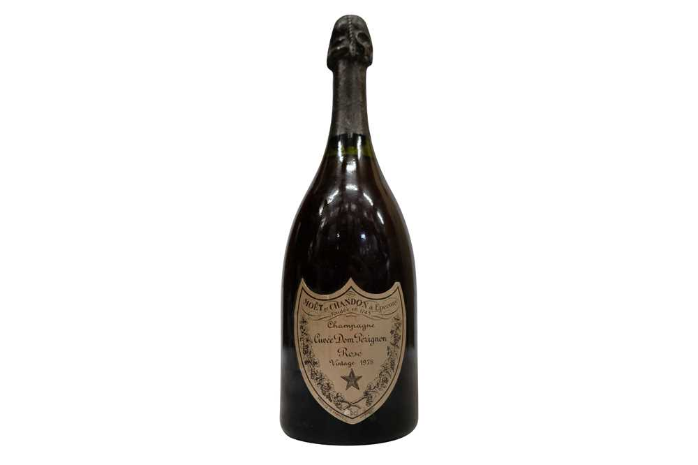 Lot 9-Dom Perignon Rose 1978