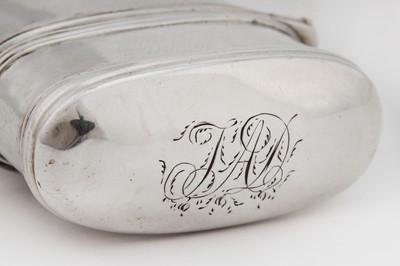 Lot 3-A George IV Scottish sterling silver lancet case, Edinburgh circa 1825 by Adam Elder (died 7th May 1829)
