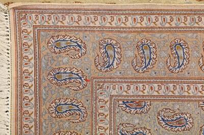 Lot 11-FINE KASHAN RUG, CENTRAL PERSIA