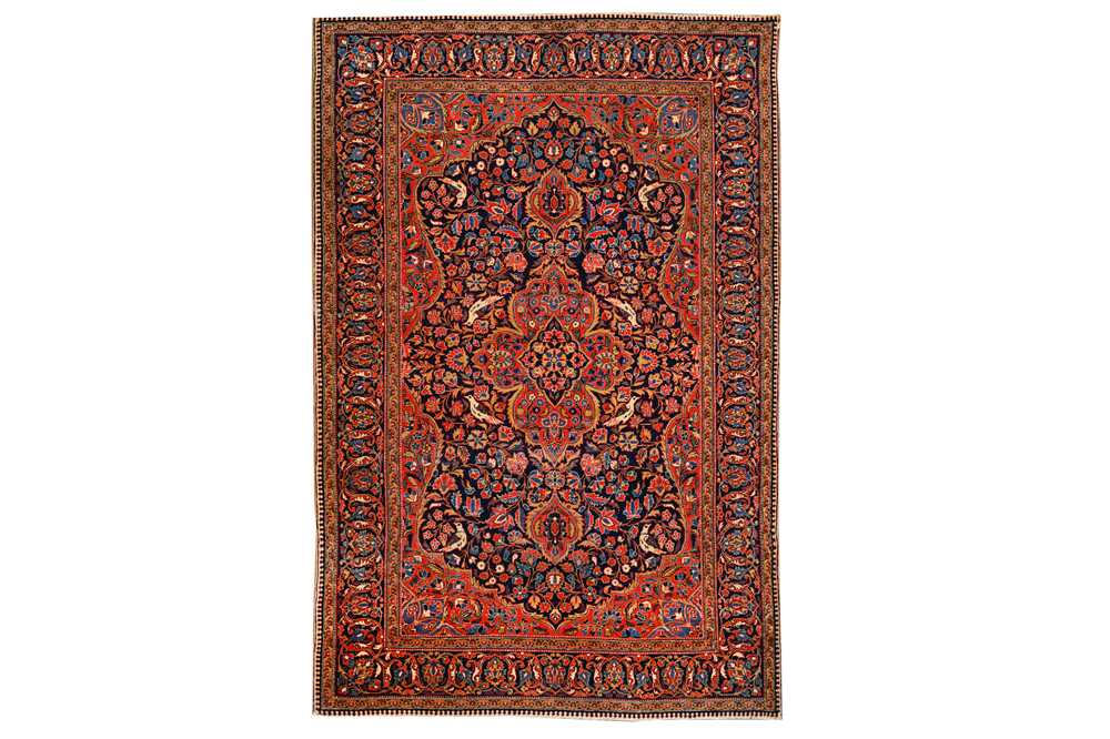 Lot 44-A VERY FINE KASHAN RUG, CENTRAL PERSIA
