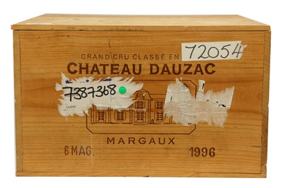 Lot 62-Magnums of Chateau Dauzac 1996
