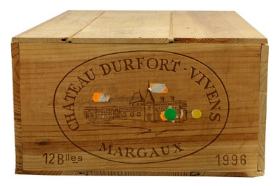 Lot 78-Magnums of Chateau Durfort-Vivens 1996