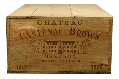 Lot 60-Chateau Cantenac Brown 1996