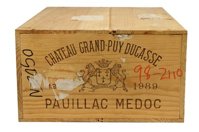Lot 92-Chateau Grand-Puy Ducasse 1989