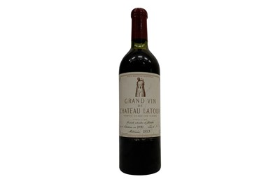 Lot 47-Chateau Latour 1953 (Reconditioned 1990)