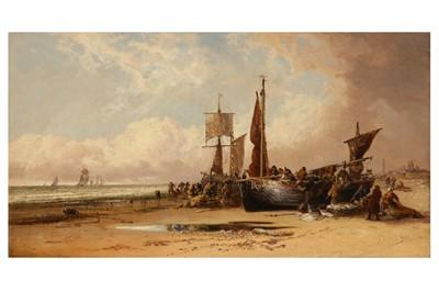 Lot 168-ARTHUR JOSEPH MEADOWS (BRITISH 1843 -1907)