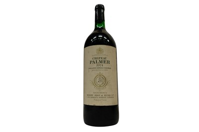 Lot 77-Magnum of Chateau Palmer 1974