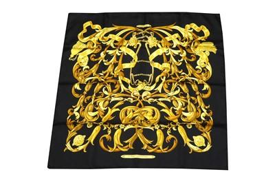 Lot 1272-Hermes 'Le Mors A La Conetable' Silk Scarf