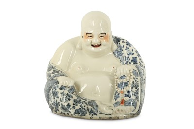 Lot 42-A CHINESE PORCELAIN FIGURE OF BUDAI HESHANG.