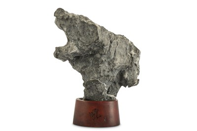 Lot 64-A CHINESE SCHOLAR'S ROCK.