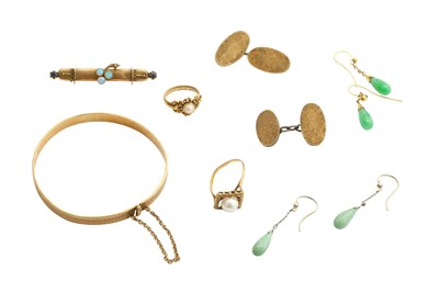Lot 35-A collection of jewellery