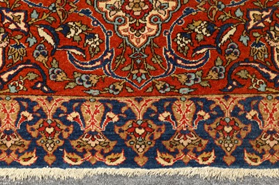 Lot 3-A VERY FINE ISFAHAN RUG, CENTRAL PERSIA