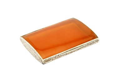 Lot 28-An early 20th century Austrian 935 standard silver and blonde tortoiseshell cigarette case, Vienna circa 1925
