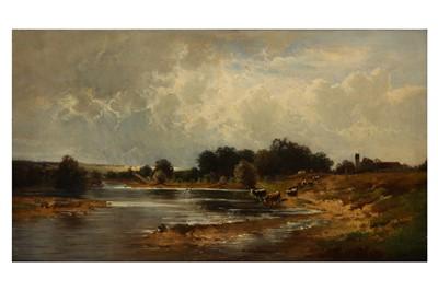 Lot 107-ADOLF HEINRICH LIER (GERMAN 1826 - 1882)