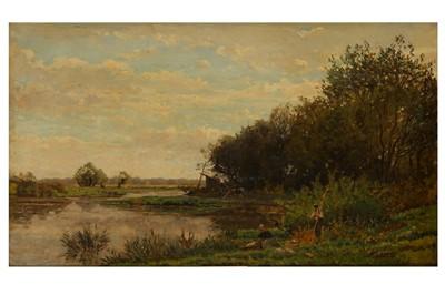 Lot 106-EDMOND MARIE PETITJEAN (FRENCH 1844 - 1925)
